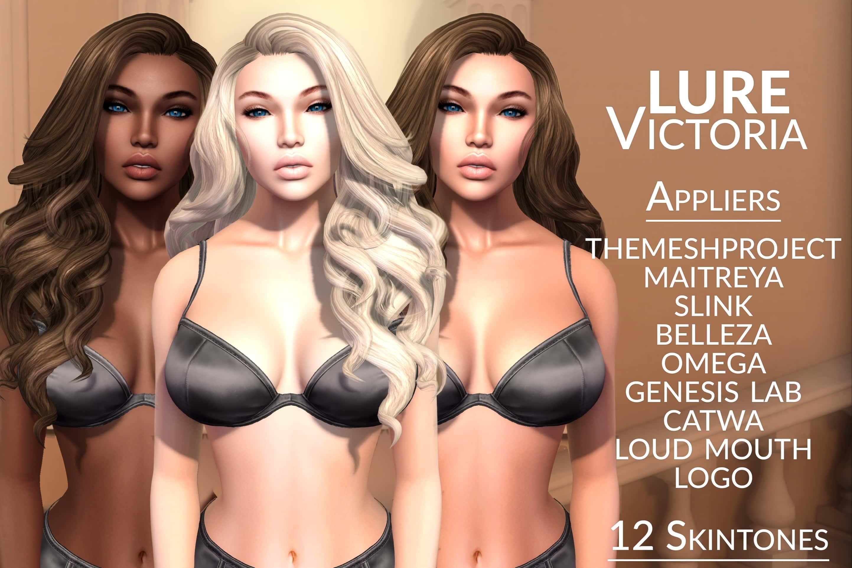 LURE: Victoria skin