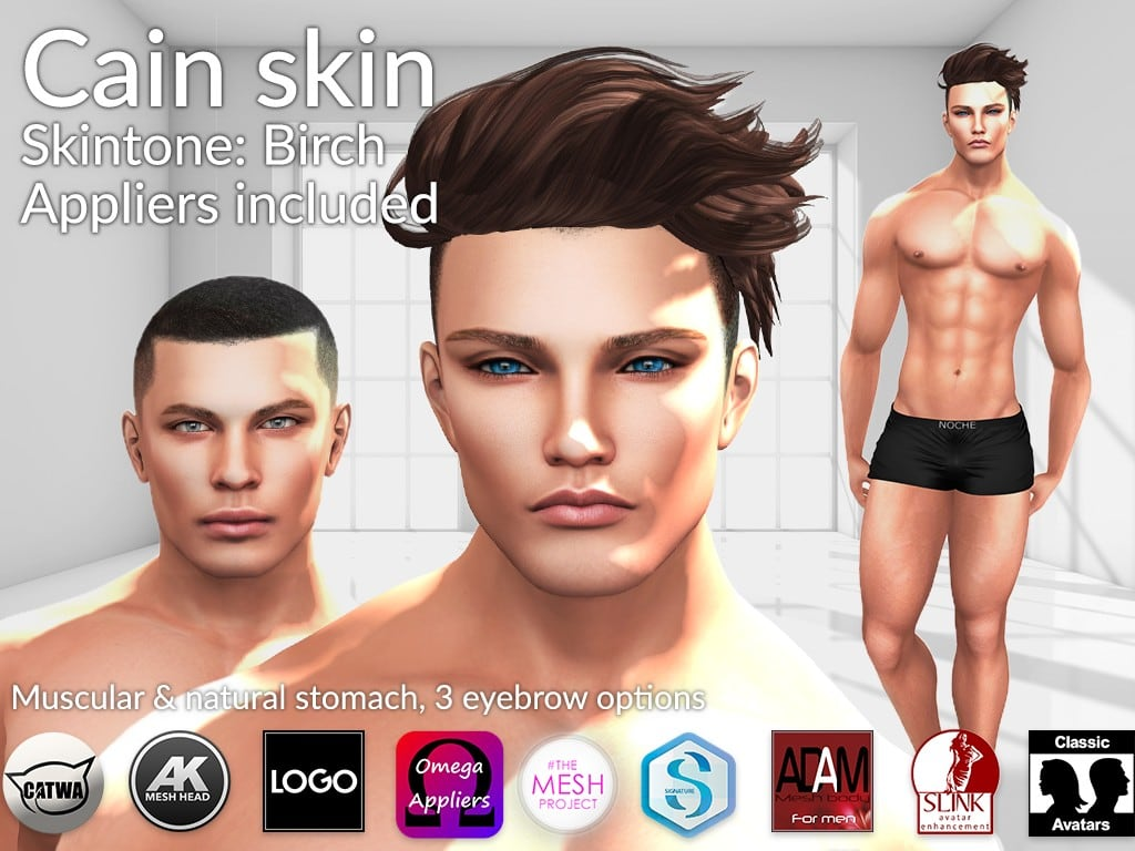 LURE: Cain – New male skin