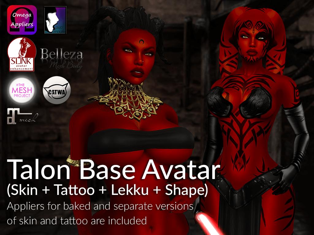 LURE: Talon Base Avatar